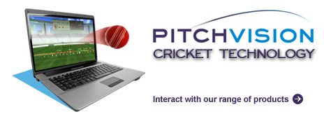 Pitchvision Cricket Technology